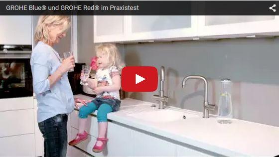 Wassersysteme GROHE Blue® und GROHE Red®
